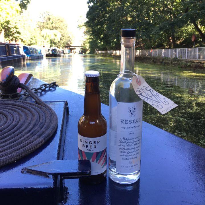 Vestal Voyage-Umbrella Brewing-Ginger Beer-Vodka-Regents Canal-01