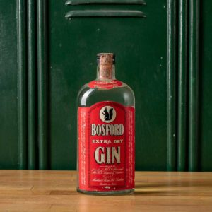 Bosford Extra Dry Vintage Gin 1970s