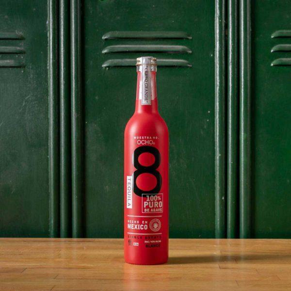 Tequila Ocho Blanco Limited Edition Red