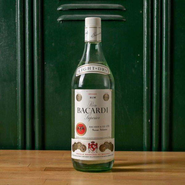 Bacardi Carta Blanca 1990s